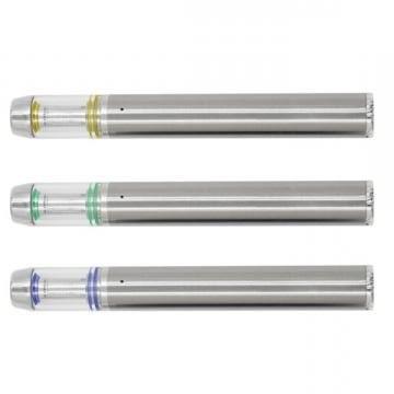 Изготовленным на заказ логосом перезаряжаемые цвета радуги 0,5 мл 1 мл одноразовые Vape ручка 350 мАч